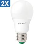 Airam LED Standardlampa 5W E27 2in1 2-pack